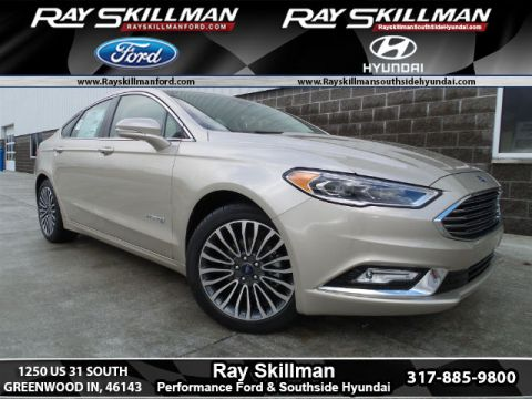 New Ford Fusion Hybrid 4DR SDN HYB TIT FWD